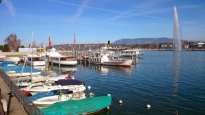 The Jet D'eau and Geneva Lakefront