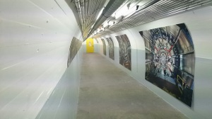 Tunnels to ATLAS Chamber